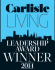 Carlisle Living Award 2014