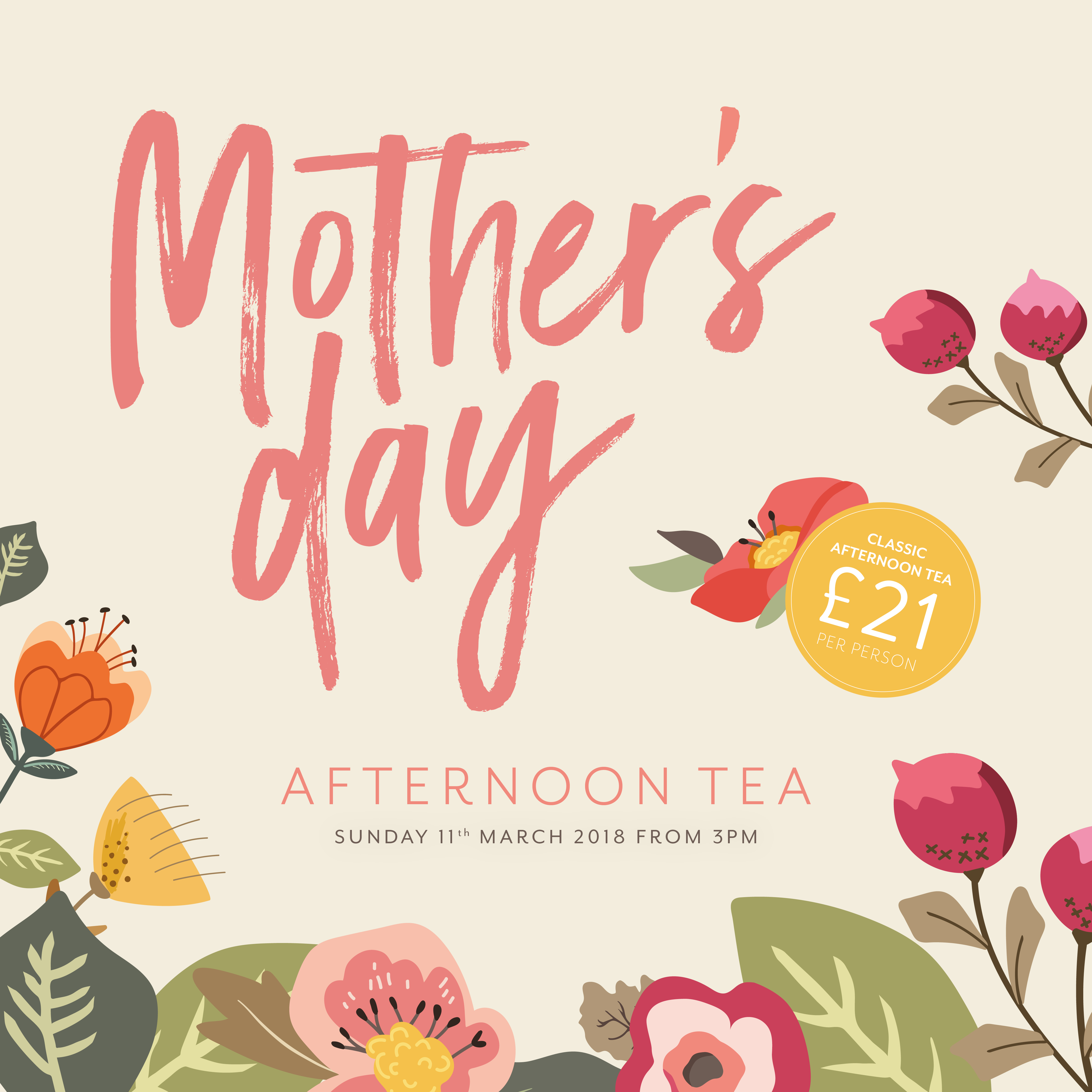 HAL0412 Mothers day flyer FB insta Square - The Halston - Luxury ...