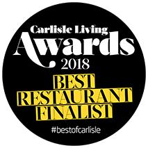 Best Restaurant Carlisle Finalist Logo